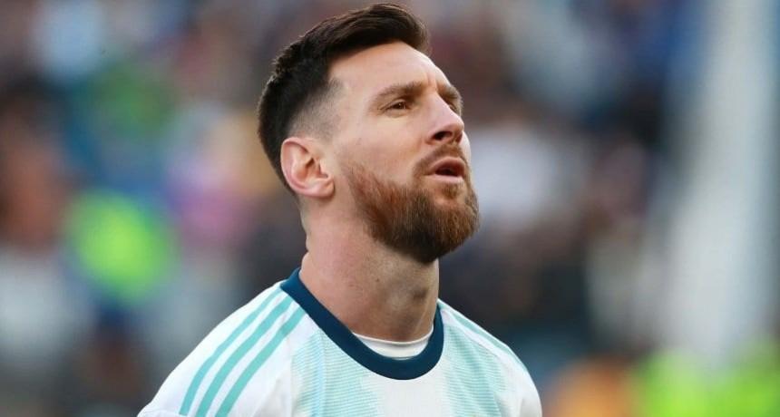 Felicitaciones, capitán: El saludo de AFA a Messi por su gol 700