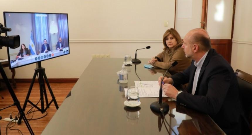 Perotti y Cantero evaluaron junto al ministro Trotta el regreso a las clases presenciales