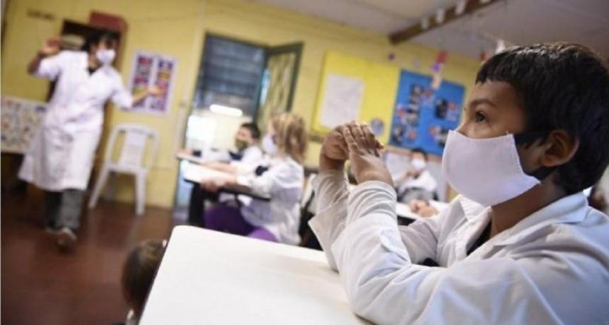 Para el regreso a las aulas debe haber nula o muy baja circulación del virus