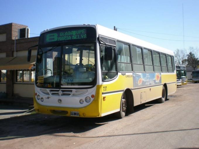 Transporte urbano de pasajeros: Se modifica el recorrido de la Línea 8