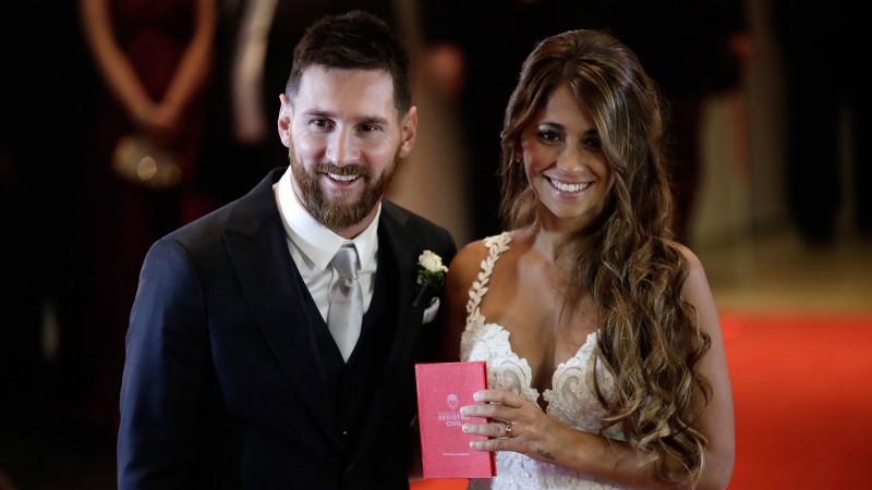 Los invitados al casamiento de Lionel Messi sólo donaron 200 mil pesos
