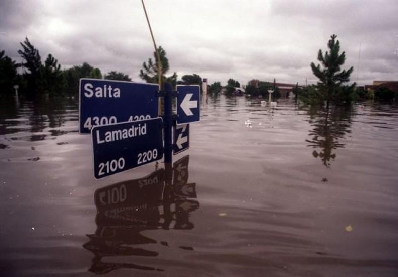 La Corte ordenó dictar sentencia en la causa inundación
