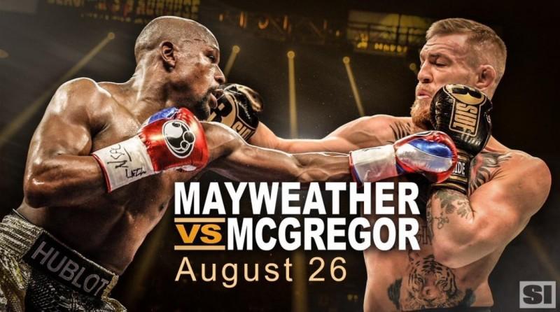 Mayweather-McGregor: gran expectativa en todo el planeta