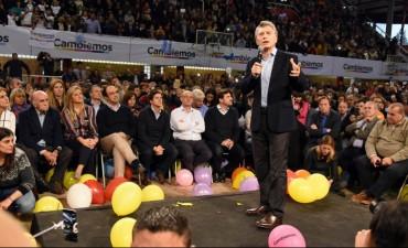 Fuerte respaldo de Macri a la lista de Cambiemos en Santa Fe