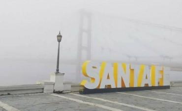 Niebla de jueves en la ciudad