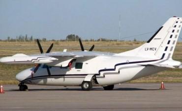 Drones con sensores infrarrojos intensifican la búsqueda del avión