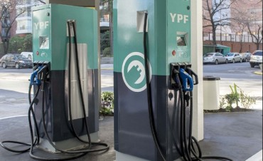 Instalaron los primeros surtidores para autos eléctricos en el país