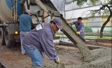 Cortes y desvíos por trabajos de bacheo