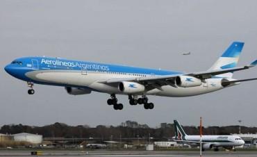 Aerolíneas Argentinas vuelve a suspender los vuelos a Caracas