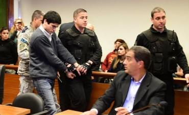 El cuádruple homicida Marcos Feruglio acordó la condena perpetua