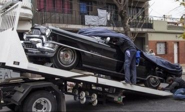 Medio siglo después, el Cadillac de Perón regresa a la Casa Rosada