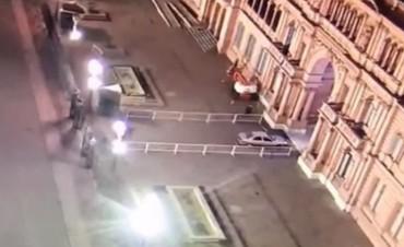 Nuevo incidente con la seguridad de Casa Rosada