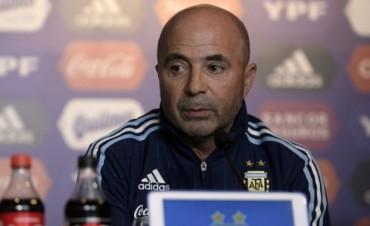 Sampaoli tendría la formación definida para enfrentar a Uruguay