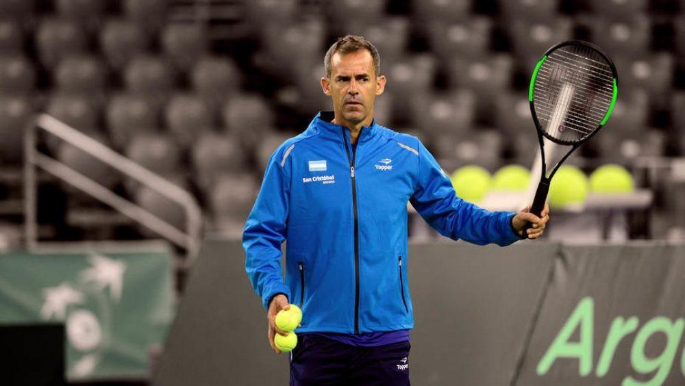 Daniel Orsanic se despidió del equipo de Copa Davis con una carta
