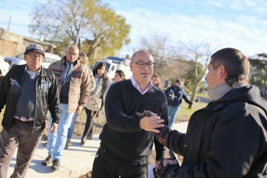 Altos del Valle: avanza la puesta en valor de la plaza ideada entre vecinos y Municipio