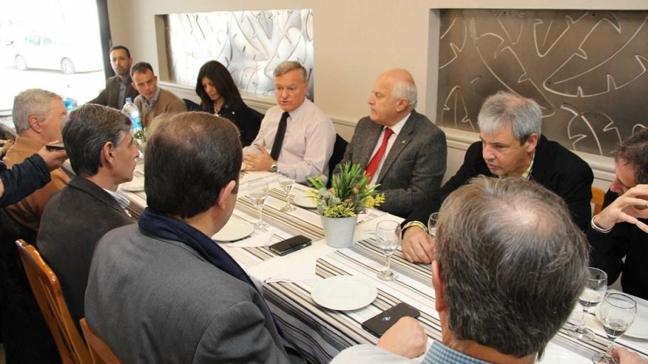 La provincia avanza en la creación del parque industrial de Gálvez