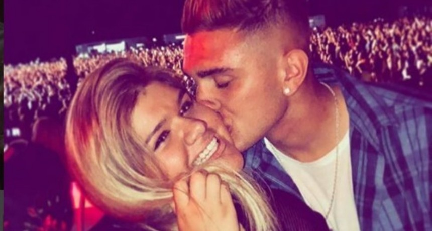 Morena Rial se tatuó el nombre de su novio junto a una frase de amor