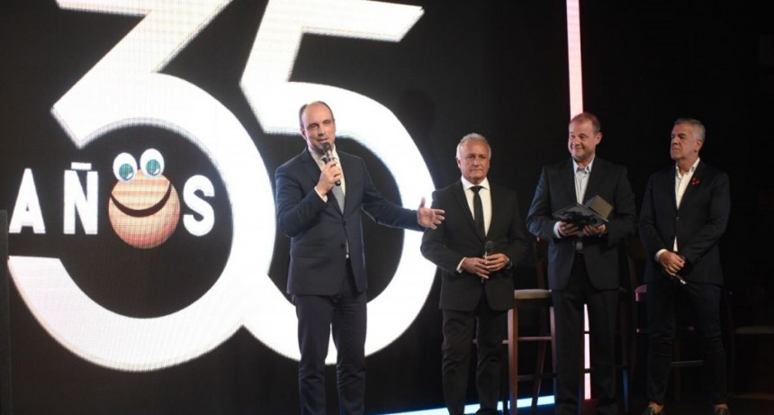Corral participó de la celebración por el 35° aniversario de los Midachi