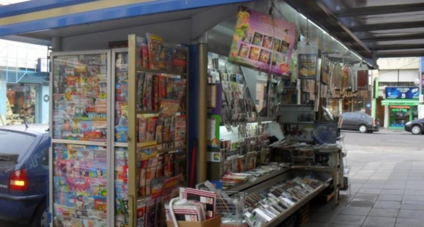 Autorizan a los kioscos de diarios a agregar nuevas tareas y prestaciones