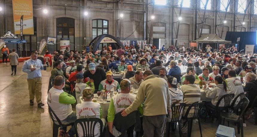 Se realizó la Primera Fiesta de la Pesca Deportiva