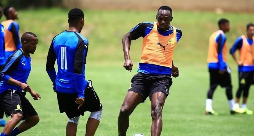 Usain Bolt jugará al fútbol en un club de Australia