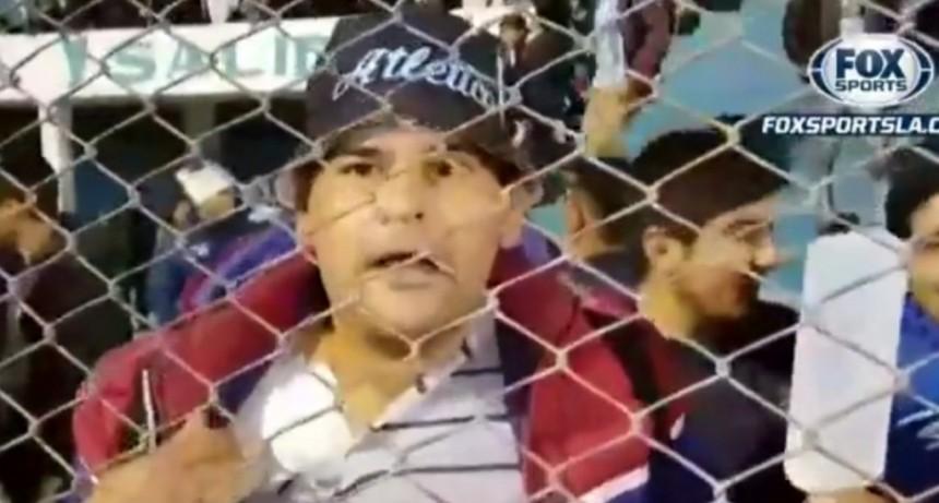 Estaba internado pero se fue del hospital para ver a Atlético Tucumán
