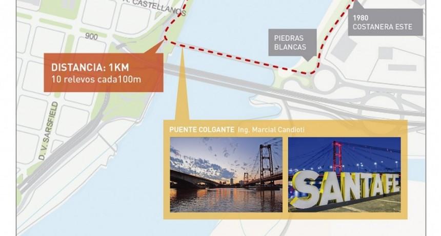 El fuego sagrado de la antorcha olímpica iluminará nuestro Puente Colgante