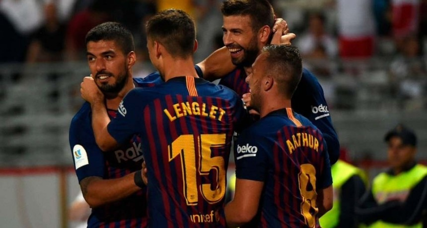Barcelona ganó la Supercopa de España