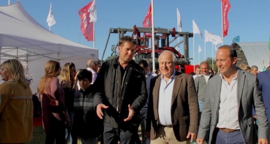 Lifschitz participó de la apertura de la 74° expo rural de San Justo