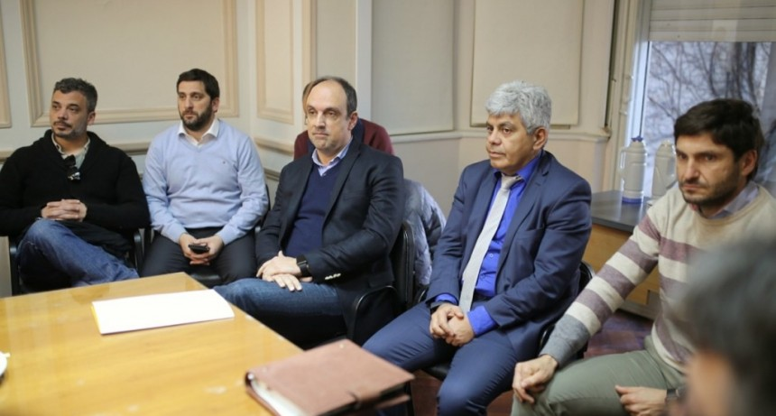 Reunión de trabajo en seguridad para reducir índices de violencia