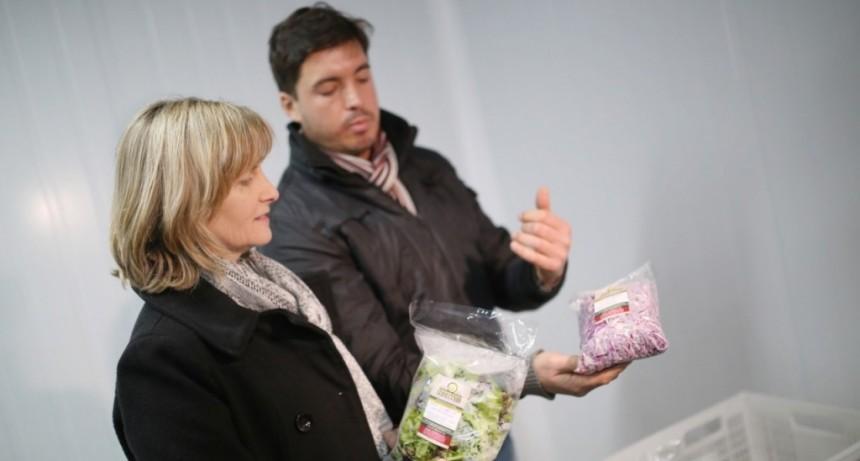 Un emprendimiento de comida saludable que crece con el apoyo del Gobierno de la Ciudad