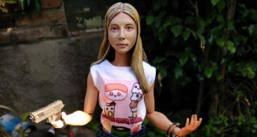 Crearon una muñeca de Nahir Galarza para coleccionar