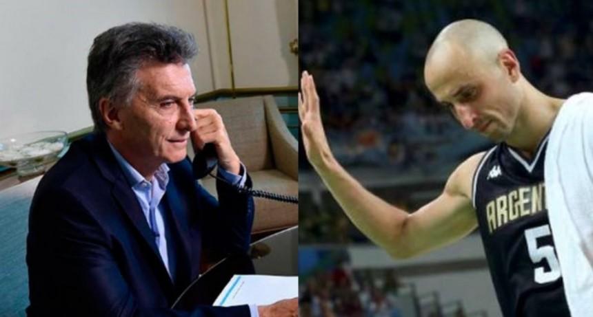 Mauricio Macri le dedicó un mensaje a Manu Ginóbili