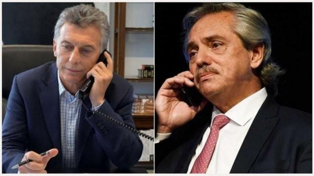 Mauricio Macri volvió a hablar con Alberto Fernández