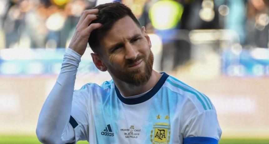 Lionel Messi, suspendido por tres meses y con una multa de U$s 50.000