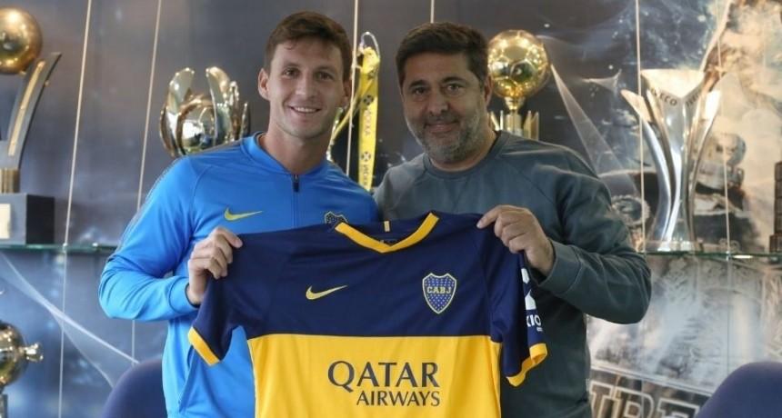 Soldano fue presentado como nuevo refuerzo de Boca