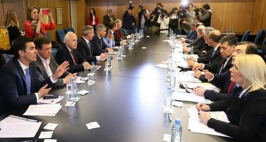 Lifschitz participó de la reunión de gobernadores