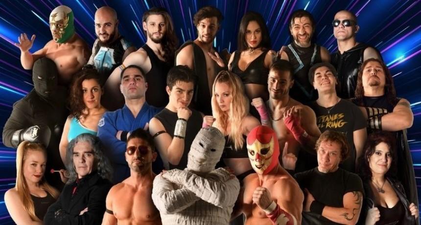 Vuelve Titanes en el ring con un show de luchas en vivo