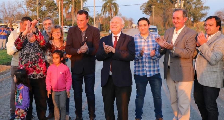 Lifschitz inauguró obras de mejoras y anunció la construcción de viviendas en Recreo