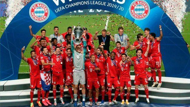 Bayern Munich recibirá una cifra millonaria por ser campeón