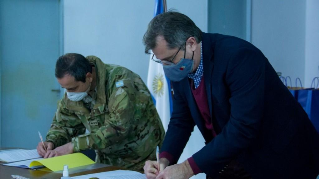 Convenio con el Ejército Argentino de Apoyo y Asistencia a la Comunidad