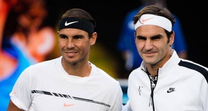 Por primera vez en el siglo Nadal y Federer no estarán juntos en un Grand Slam
