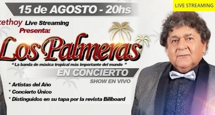 Los Palmeras se presentarán el sábado vía streaming