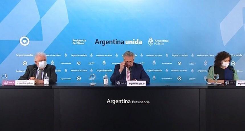 Alberto Fernández: La vacuna costará entre 3 y 4 dólares