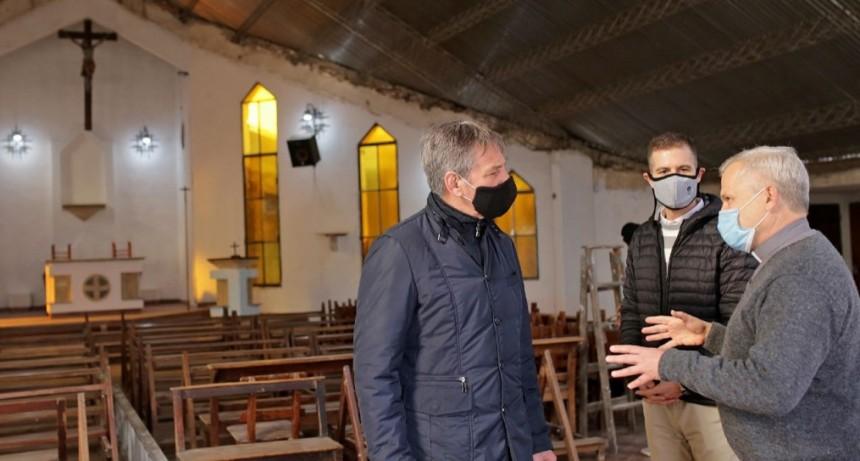 Jatón y el padre Axel fortalecen el programa municipal del voluntariado