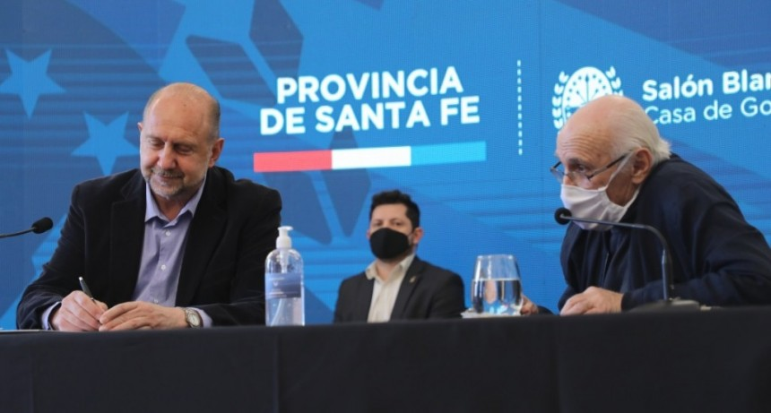 """Perotti: """"Nos comprometimos a trabajar por una Santa Fe sin ranchos"""""""