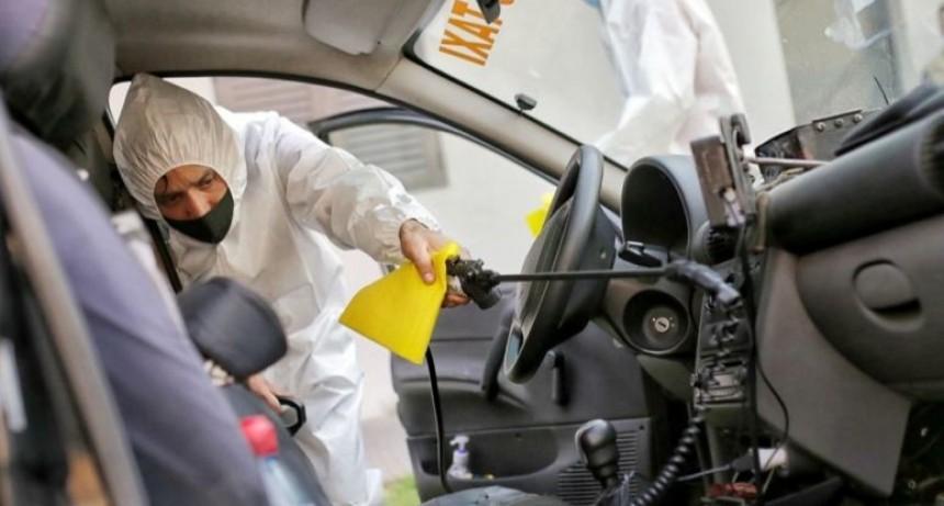 La Municipalidad supervisa el cumplimiento de los protocolos en taxis y remises