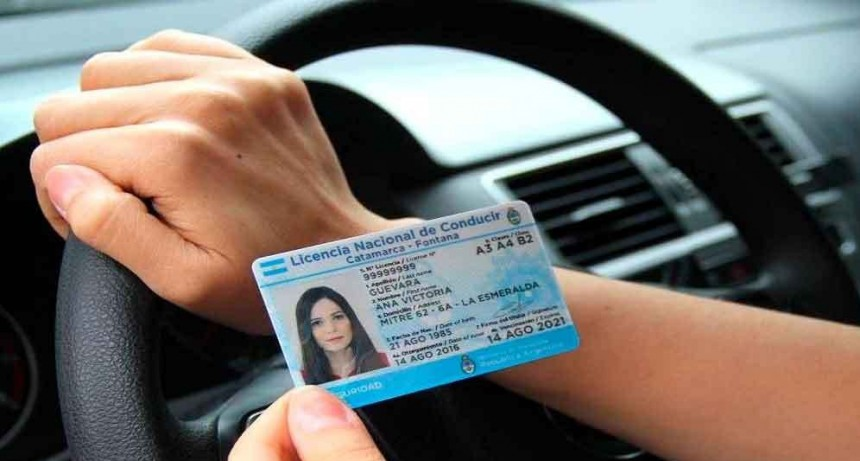 Extendieron otra vez el vencimiento de las licencias de conducir