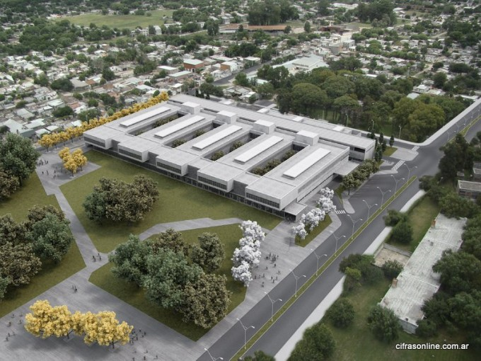 Licitan la 4ta etapa del Nuevo Hospital Iturraspe