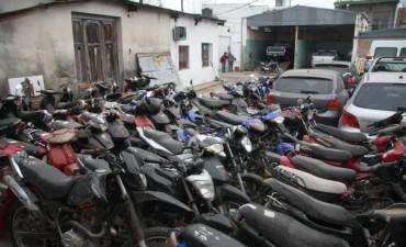 Motos secuestradas: PDI trabaja en identificar los hechos denunciados